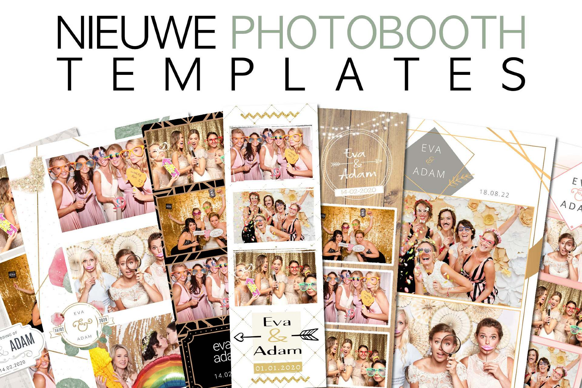 Nieuwe photo booth templates
