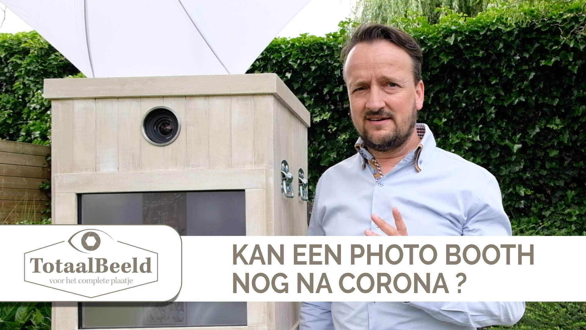 Kan een photobooth na corona